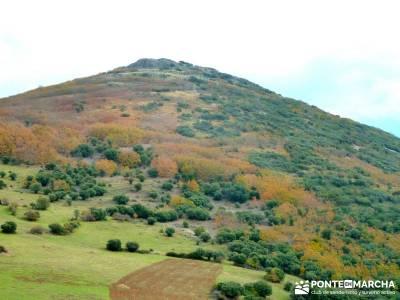 Pico Cerillón - La Morra - Montes de Toledo; grupo de senderismo madrid; rutas y senderos
